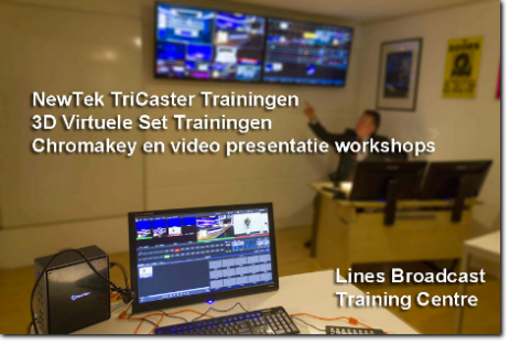 workshop chromakey video presenteren